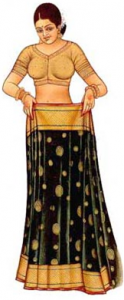 How To Wear A Saree Step 2