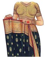 How To Wear A Saree Step 3
